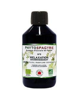 Phytospagyrie n°6 Relaxation Endormissement - Vecteur Energy