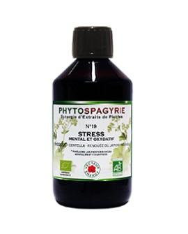Phytospagyrie n°19 Stress Mental et Oxydatif - Vecteur Energy