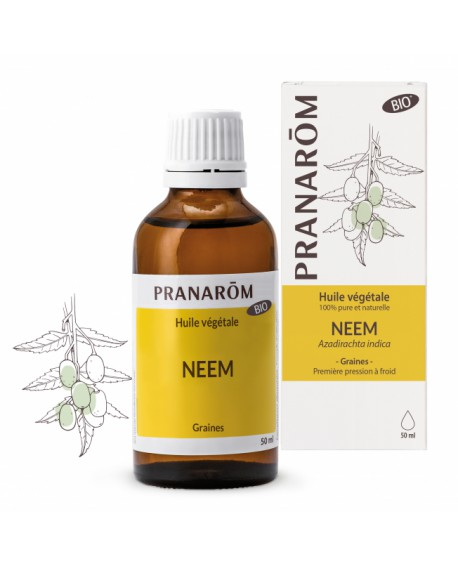Neem Huile végétale BIO de Pranarom