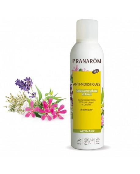 SPRAY anti-moustique bio AROMAPIC (Atmosphérique & Tissus) de Pranarom