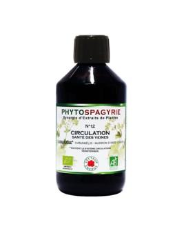 Phytospagyrie n°12 Circulation / Santé des veines BIO - Vecteur Energy