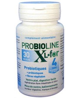 Probioline XL For, Digestion, Défenses naturelles, 30 Gélules de LT Labo