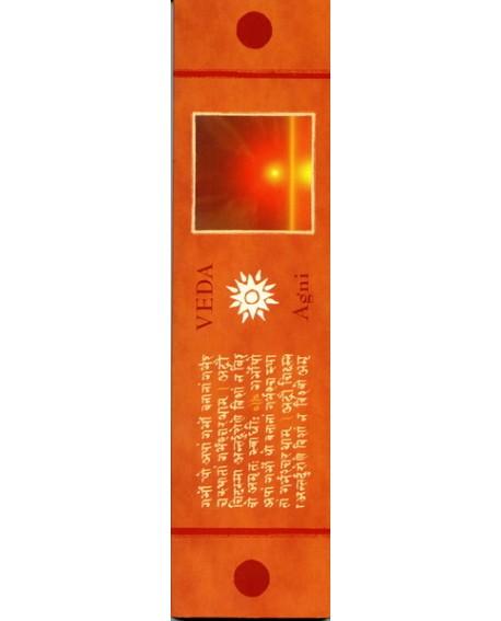 Veda Agni (Santal, Rose) Encens d'Auroville aux huiles essentielles