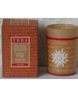 Bougie Champak (Swar) Veda, Naturel