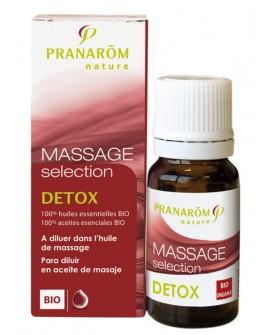 Détox  Bio (drainage, minceur) Synergie pour massage de Pranarom