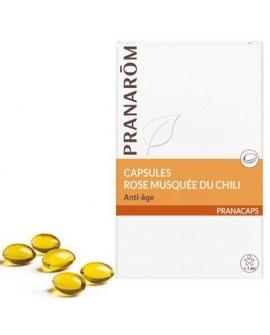 Rose musquée oléocapsules aromatiques (Anti-âge) de Pranarom