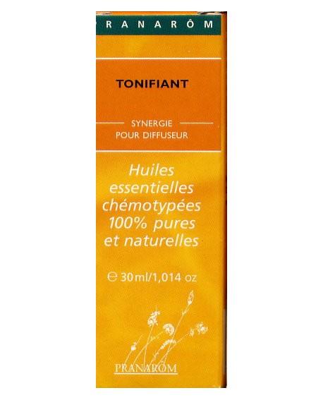 Tonifiante-mélange d'huiles essentielles pour diffuseur