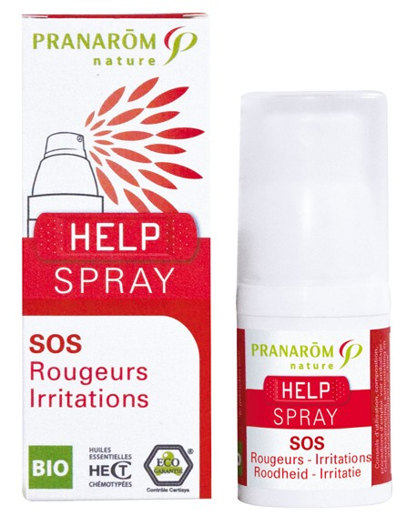 Help Spray Bio (sos  Rougeurs, Irritations) de Pranarom