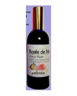 Rosée AMBREE rosée de mai, Parfum du Psyché aux huiles essentielles
