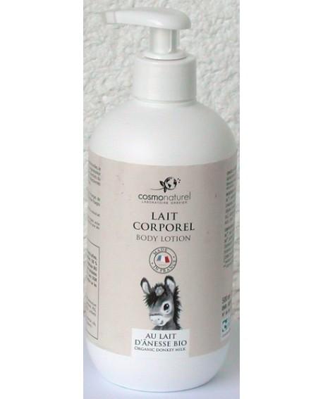 Lait corporel BIO au lait d'ânesse de Cosmo Naturel