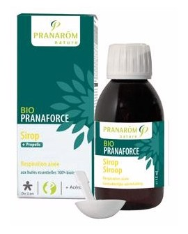 Sirop BIO Pranaforce de Pranarom