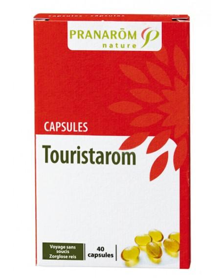 Touristarom capsules aromatiques (Voyage sans soucis) de Pranarom