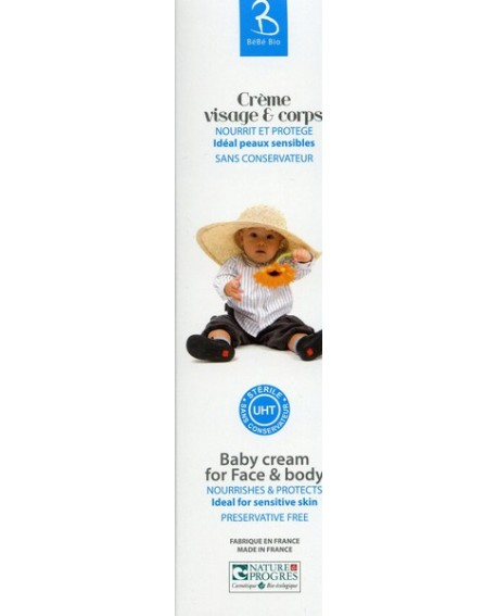Crème visage et corps Bébé Bio de gravier
