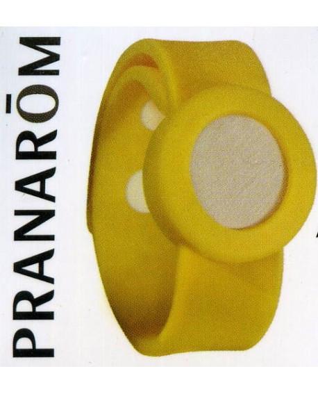 AROMA WATCH, Bracelet Aromatique (Jaune) de Pranarom