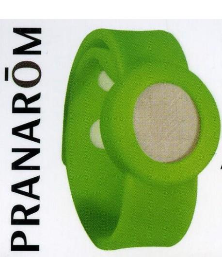 AROMA WATCH, Bracelet Aromatique (vert) de Pranarom