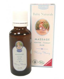 Huile de massage BIO, Ventre (ylang ylang) pour bébé