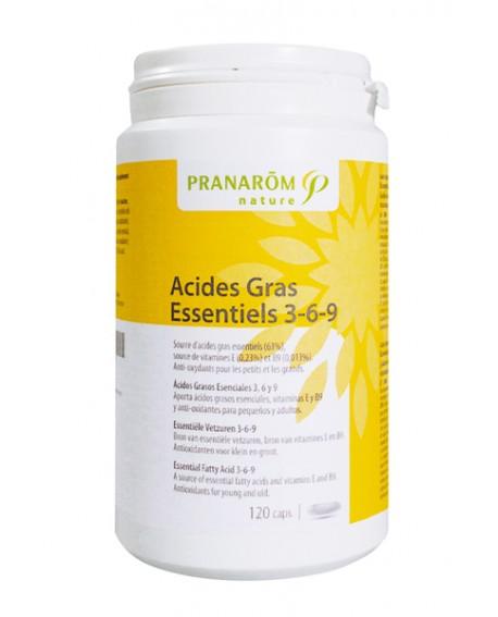 Acides Gras Essentiels 3 6 9  Anti-oxydants de Pranarom (Concentration & Mémoire)