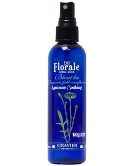 Eau florale bleuet BIO ou hydrolat (Apaisant, décongestionnant des yeux) de GRAVIER