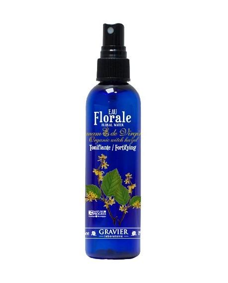 Eau florale d'Hamamélis BIO ou hydrolat (Protectrice vasculaire, Astringente) de GRAVIER