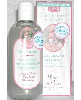 Gel BIO lavant délicat sans savon pour bébé