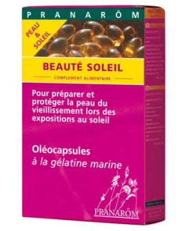 Beauté Soleil oléocapsules (peau et soleil)