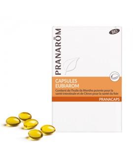 Eubiarom capsules aromatiques BIO (Voyage) de Pranarom