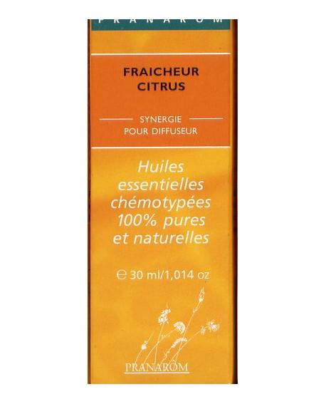 Fraîcheur Citrus, Mélange d'huiles essentielles pour diffuseur