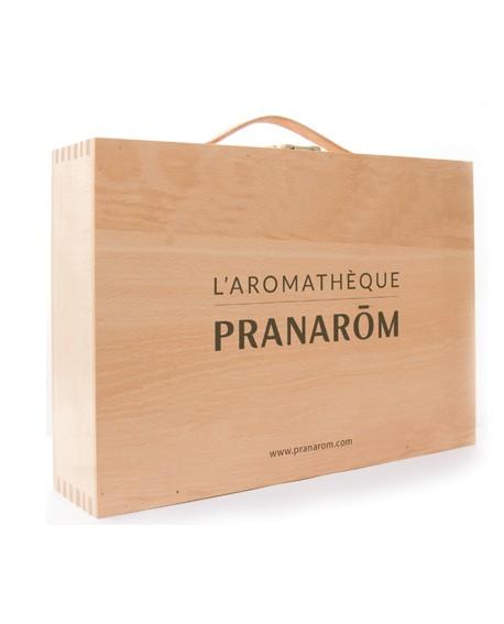 Aromathèque (coffret en bois) pour 60 Huiles Essentielles de Pranarom