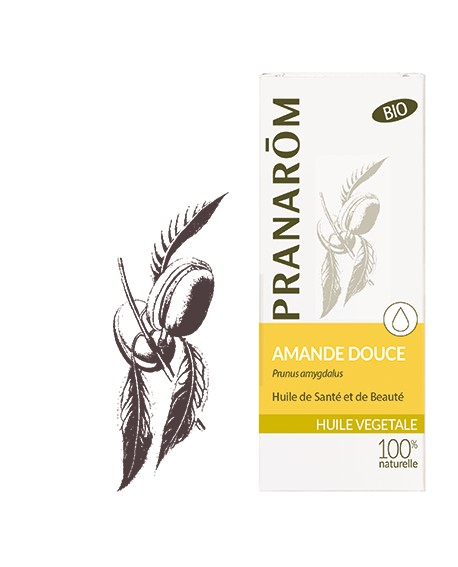 Amande douce huile végétale BIO de Pranarom