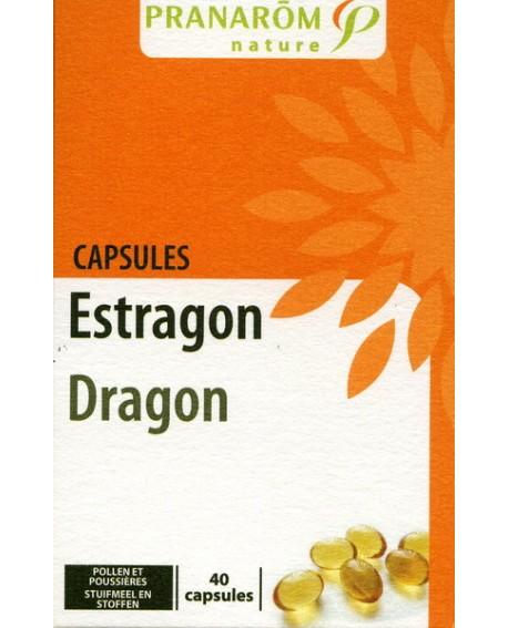 Estragon capsules aromatiques (Pollens, Poussières) de Pranarom