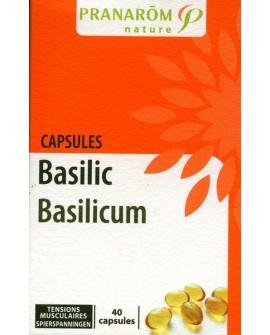 Basilic capsules aromatiques (Tensions Musculaires) de Pranarom