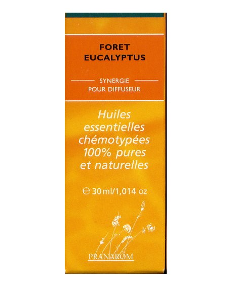 Forêt Eucalyptus-mélange d'huiles essentielles pour diffuseur de pranarom