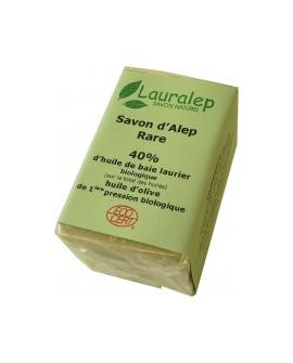 Savon d'alep Rare BIO 40 % de laurier par Lauralep 150gr
