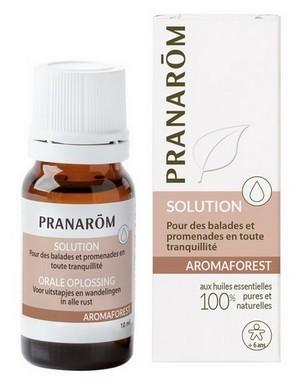 Aromaforest de Pranarom pour vous protéger, ainsi que vos chiens, de la maladie de Lyme transmis par les Tiques lors de vos balades et promenades en forêt