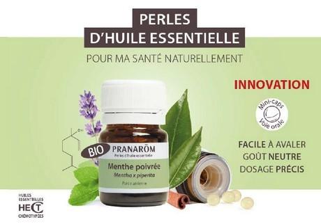 perles d'huiles essentielle Bio de Pranarom