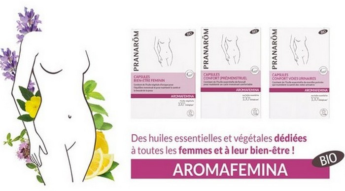 capsules de la gamme Aromafemina