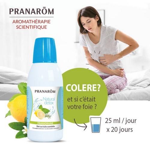 Pranadraine, Natural detox de Pranarom